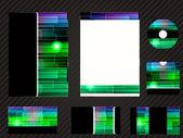 Vektor vorlage für business-design — Stockfoto