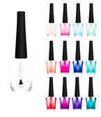 Set of color nail polish — Stock Photo