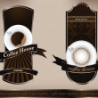 Royalty-Free Stock Photo: Coffee design templates