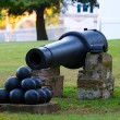 Stock Photo: 19th Century Cannon