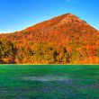 Pinnacle Mountain Panoramic — Stock Photo