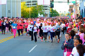 Race For The Cure - Start — Stock Photo