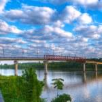 Twin Rivers Bridge — Stock Photo #14660303
