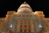 Arkansas State Capitol exterior at Christmas — Stock Photo