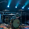 Drum Kit on Stage - Stock Photo