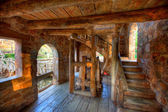 Old Mill Interior — Stock Photo