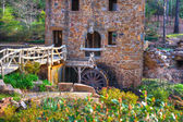 Old Mill - Water Wheel — Stock Photo