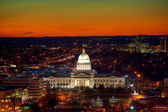 Little Rock at Dusk — Stock Photo