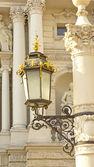 Streetlight on the pole — Stock Photo