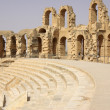 Coliseum in El-Jem, Tunisia, Africa — Foto Stock