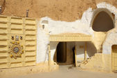 "Scenery for the film ""Star Wars"", Tunisia — Stock Photo"