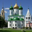Churches in town of Kolomna, Russia — Stok Fotoğraf #13878722