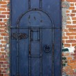Royalty-Free Stock Photo: An old metal door