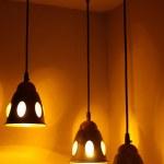 Three lamps — Stock Photo