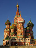 Intercession Cathedral at Red Square in Moscow, Russia — Stock Photo