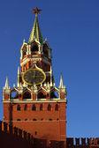 Spasskaya tornet i Moskva Kreml — Stockfoto