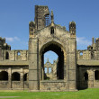 Kirkstall Abbey, Leeds, UK — Stock Photo