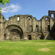 Kirkstall Abbey, Leeds, UK — Foto Stock