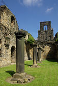 Kirkstall Abbey, Leeds, UK — Stock Photo