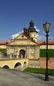 Radziwill castle in Nesvizh, Belarus — Stock Photo