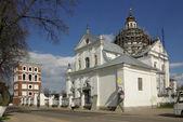 Corpus Christi Catholic Church in Nesvizh, Belarus — ストック写真