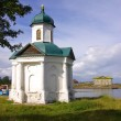 Stock Photo: Chapel on Solovki, Russia