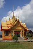 Building in the temple Wat Ta Khun, Thailand — Stock Photo