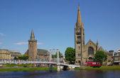 Bridge in Inverness, Scotland — Stock Photo