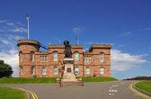 Castle in Inverness, Scotland — Stock Photo