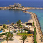 Sea coast in Monastir, Tunisia in Africa — Stock Photo #41903967