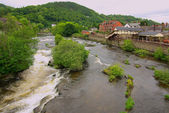 View of Llangollen, UK  — Stockfoto