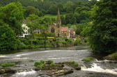 View of Llangollen, UK — Stock Photo