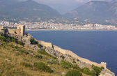 Castle in Alanya, Turkey — Stock fotografie