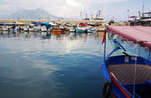 Boats in the port of Alanya, Turkey — Stock Photo