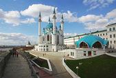 Mesquita de qol sharif no kremlin de kazan, tatarstan, rússia — Foto Stock
