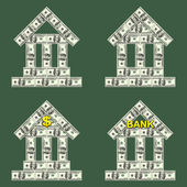 Symbols Bank — Stock Photo