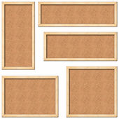 Cork boards — Stock Photo