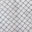 Grid cell background old rusty metal mesh wire — Stock Photo