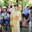 Vietnamese musicians — Stock Photo