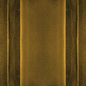 Golden leather background — Stock Photo