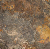 Brown rust metal background — Stock Photo