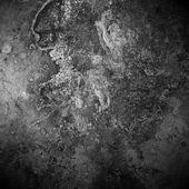 Black old rust metal plate background — Foto Stock