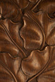Brown wooden background — Photo