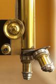 Old microscope lenses — Stock Photo
