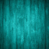 Turquoise wooden background — Stock Photo