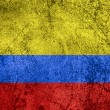 Stock Photo: Flag of Colombia