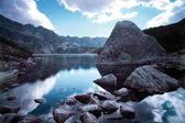 Fife Lakes Valley in Tatra Mountains — Stock Photo