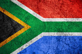 Republic of South Africa flag — Stock Photo