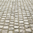 cobblestone pavement or stone pavement texture — Stock Photo