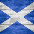 flag of scotland — Stock Photo